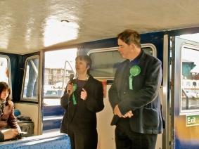 South West Green Party campaign launch