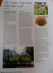 Traders using the local food waste and recycling service wanted to know where their waste got treated. I took a group to Avonmouth to see the facility at GenEco where it's turned into soil conditioner and also generates electricity and heat. reported in Bistol Local Food newsletter